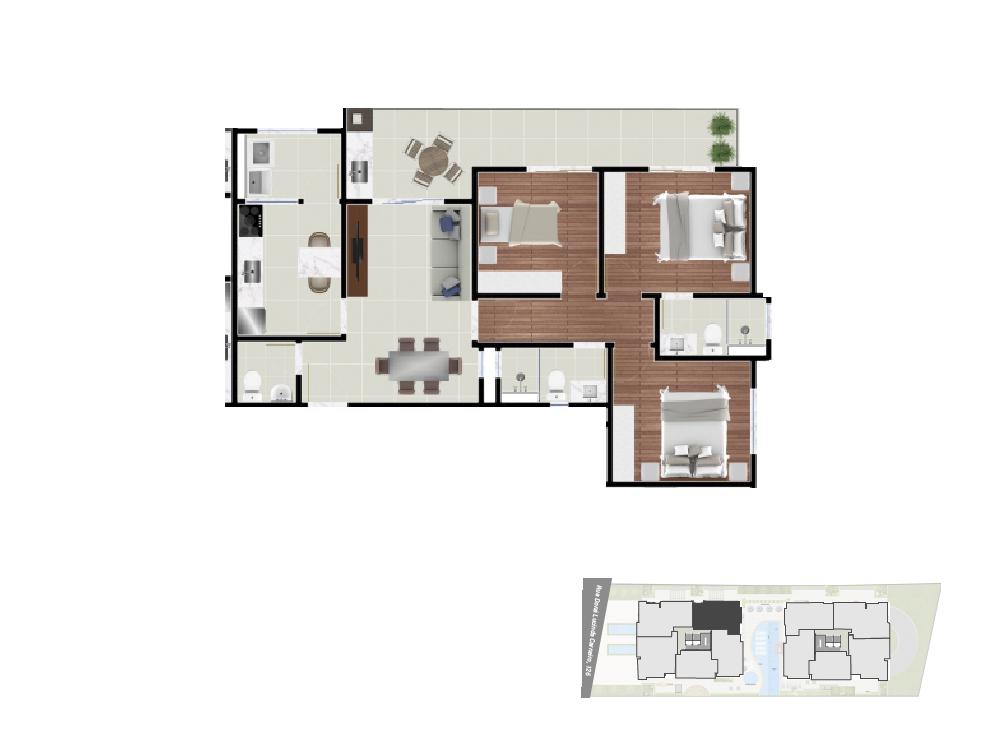 Apto. 5 - 90,71 m²