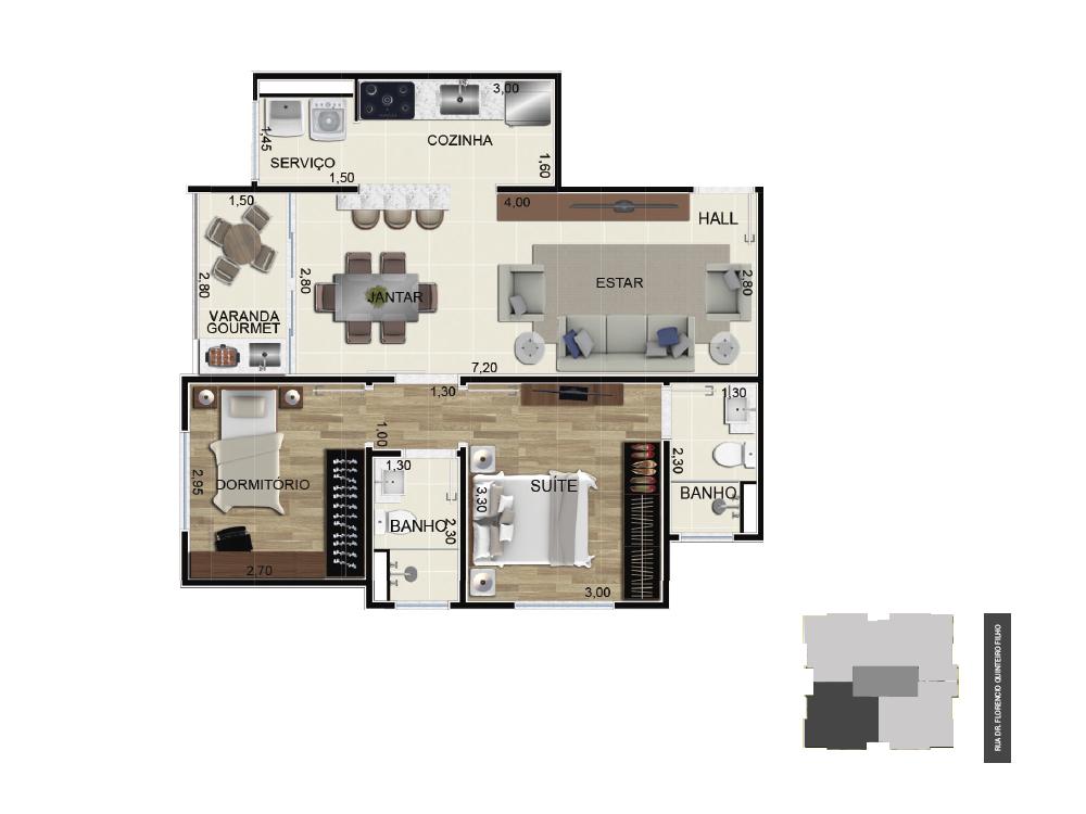 Final 1 - 65 m²